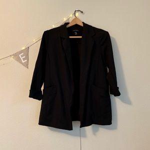 Black blazer, 6-8 (women's).